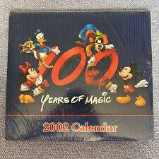 Disney 100 Years Of Magic 2002 Calendar Brand New Sealed