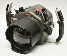 Sealux CD300 Custodia subacquea in alluminio per Nikon D300 + oblò piano macro