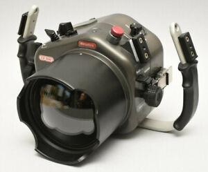 Sealux CD300 Sorgerecht Unterwasser- Aluminium für Nikon D300 + Bullauge