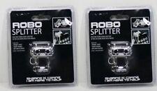 2-Robo Splitter iPhone iPod Smartphone MP3 MP4 Player Jack - (2 pack)