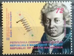 NORTH MACEDONIA 200th Anniversary of the theory of magnetic field Ampere