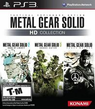 Metal Gear Solid HD Collection PS3 PlayStation 3 Brand New