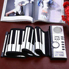 USB 61 Key Flexible Roll Up Electronic Piano Keyboard MIDI Music Acces Pop