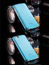 iPhone 4 Schutzhülle Für 4s Tasche Farbe Türki Leder Top Luxus Cover Flip Klappe