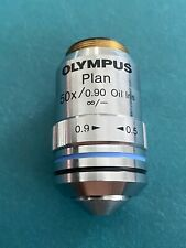 Olympus Plan 50x/0.90 Oil Iris Infinity Objective Excellent Condition