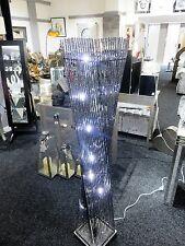Modern, elegant, stunning Floor standing Black aluminium cayan tower LED lamp,