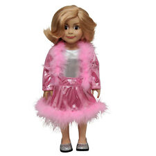 """Ice Skating Outfit Complete with Body Suit, Doll Clothes Fit 18"""" Girl Dolls"""