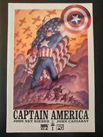 CAPTAIN AMERICA #1 (vol 4) (2002 MARVEL Knights Comics) VF/NM Book