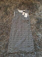 NWT Theory Adraya Barnet Gingham Pitch Cotton Dress Size 0