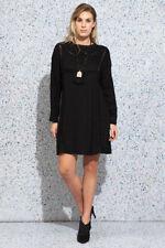 Winter Knee Length Viscose Dresses for Women
