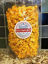 Hot Jalapeno Cheddar Cheese Popcorn by Damn Good Popcorn Spicy Popcorn 8 oz Bag