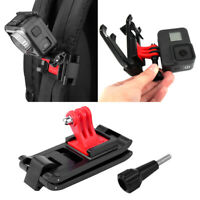 Backpack Clamp For DJI OSMO Action GoPro Hero 8 / 7 / 6 / 5 Black Sports Camera