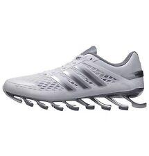 01cdcfd81483 Adidas Springboard Razor Running Mens Shoes Sz 6.5 White Metallic Silver  Grey