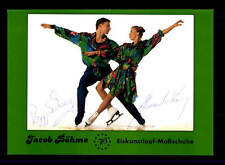 Peggy Schwarz und Alexander König Autogrammkarte Original Eiskunstlauf+ A 151637