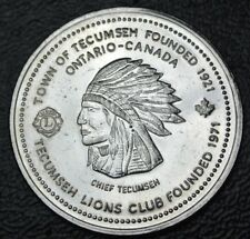 1994 LIONS CLUB SERVING HANDICAPPED TRADE DOLLAR - TOWN OF TECUMSEH, Ontario