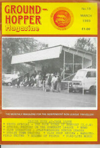 GROUND-HOPPER (Non League Football Magazine) Issue no.18 dated March 1989