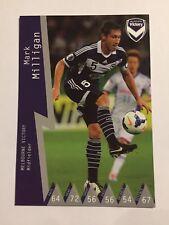 2014-15 Hyundai A League Soccer Card - Melbourne Victory Mark Milligan