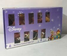DISNEY Winnie The Pooh /Tigger ~ 20 Conical Christmas Tree Fairy Lights Rare