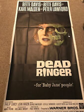 "Vintage Original Dead Ringer 3 Sheet 41"" x 79"" Movie Poster 42/64 Bette Davis"