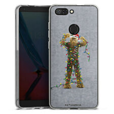 ZTE Blade V9 Silikon Hülle Case Handyhülle - chewbacca christmas lights