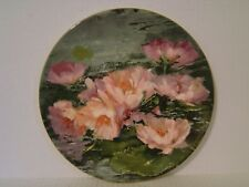 "1976 Royal Doulton Hahn Vidal Dreaming Lotus Plate 10-1/4"" With Box"