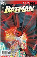 BATMAN #678, 679 & 680 R.I.P. STORY LINE 1ST PRINT DC COMICS