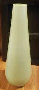 Very Luck Glass Co Frosted Green Long Boa Pendant light shade