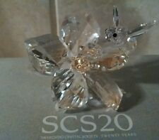 Swarovski Crystal The Collector Jubilee Edition 2007 Bee on Flower 0871895