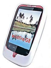 Silikon TPU Handy Cover Case Hülle  Schale Kappe  für HTC Wildfire in  Weiß