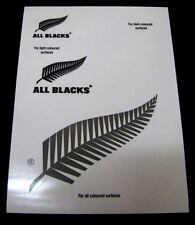 62806 All Blacks UV Vinyl Decals Stickers Precut 5 Pack