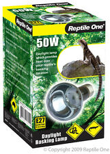 Reptile One R1-46560 Heat Lamp Day Light 50W E27 Screw Fitting for Reptiles