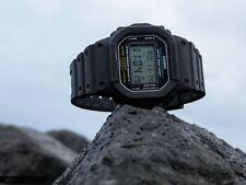 Nuevo Genuino Casio G Shock DW-5600E-1V Reloj para Hombres Negro Digital Multifunción