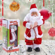 Christmas Singing Dancing Santa Claus Twirking Hips Xmas Toy Music Shaking Gift