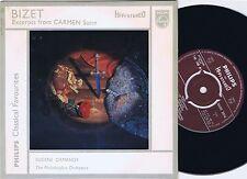 EUGENE ORMANDY Bizet CARMEN SUITE Excerpts UK Philips Hi Fi EP 45PS EX+