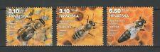 Croatia 2019 Bees 3 MNH stamps