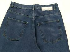 Iceberg Icejeans Italy Men's Rainbow Stitched 5 Pocket Waxed Denim Jeans, 32x33