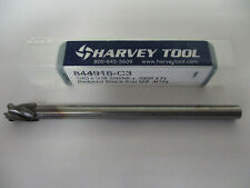"HARVEY TOOL Carbide Ball End Mill 0.015/"" AlTiN 1//8/"" x 0.022/"" x 2-1//2/"" 34215-C3"