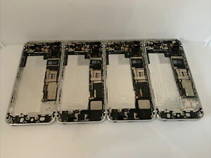 Faulty batch of 4x Apple iPhone 5s Housing /Chassis- 16GB - Silver (13443x)