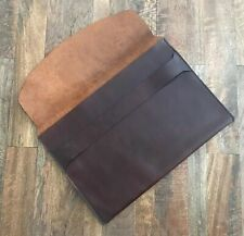 "Leather Lately Laptop Holder Sleeve for Apple 12"" 13"" Mac Book Macbook Air - NEW"
