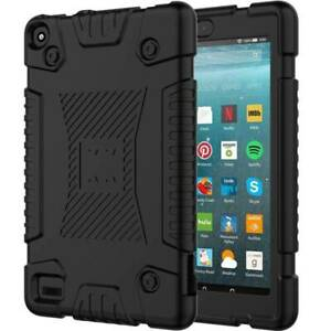 """For Amazon Kindle Fire 7 9th Gen 2019 2015 2017 7"""" Kids Hybrid Rugged Case Cover"""