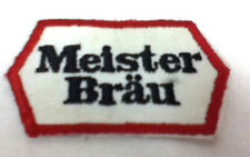 Meister Brau embroidered patch embroidery hat patches brewery vintage old R1