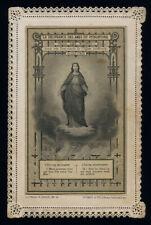 santino merlettato-holy card-canivet*LETAILLE pli 12 LIBERAZIONE ANIME PURGATORI