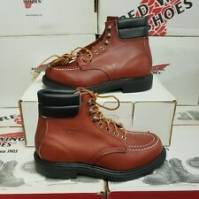 "*VINTAGE* RED WING SHOES 8804 6"" men's leather boots UK 6 US 7 EUR 39 (pv:399€)"
