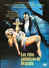 THE SATANIC RITES OF DRACULA (1973) **Dvd R2** Christopher Lee, Peter Cushing