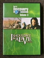 I SHOULDN'T BE ALIVE THE SERIES - BEST OF DISCOVERY CHANNEL VOL. 3 DVD LIKE NEW