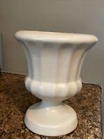 Vintage Haeger Large Cream Century Modern Vase/Planter