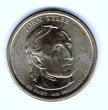 2009 D US Dollar Coin John Tyler in BU Condition