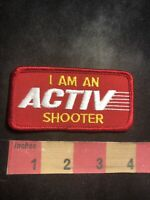 ACTIV SHOOTER Gun / Ammo Related Advertising Patch C93N