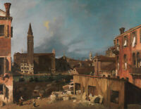 Classic Artist Painting Canaletto Wall Art Painting Print CANVAS Giclee Poster S