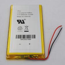 3.7V 5000 mAh Li-Po Polymer Li ion Battery 5560105 For GPS Solar Power Tablet PC